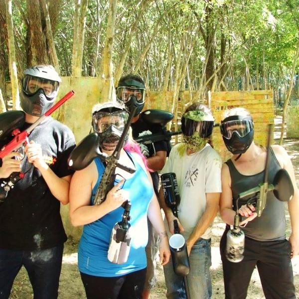 Partie de paintball